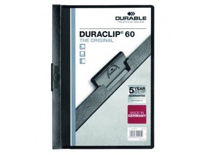 DURACLIP 60-černá