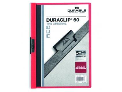 DURACLIP 60-čevená