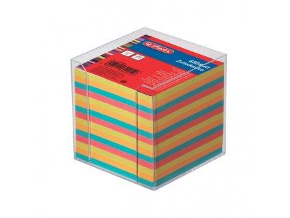 Poznámkový špalíček Herlitz v krabičce big - mix barev