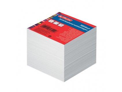 Poznámkový špalík - bílý - nelepený 9x9 cm