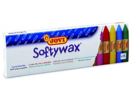 SOFTYWAX - voskovky 15ks  /60mm,průměr 10mm/