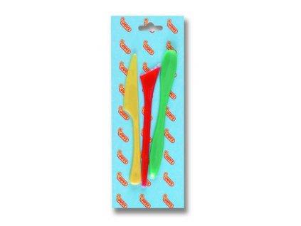 modelovací nože 3ks, blistr závěs