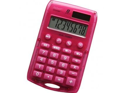 Kalkulačka Rebell Starlet - růžová