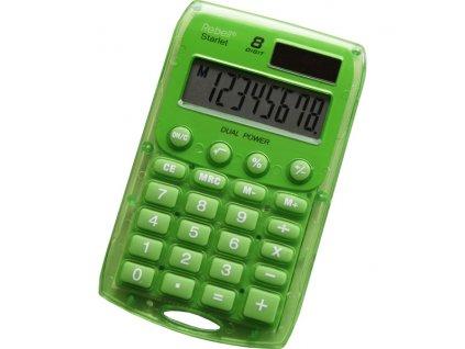 Kalkulačka Rebell Starlet - zelená