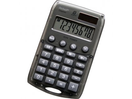 Kalkulačka Rebell Starlet - černá