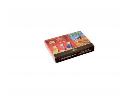 Souprava akrylových barev 162701/6 - 16 ml