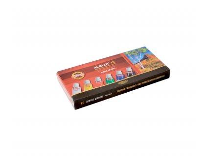 Sada 10 akrylových barev 162703/10 - 16 ml