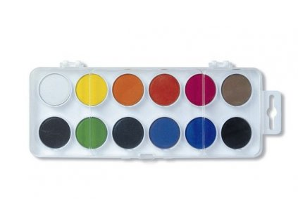 Barvy vodové 171510/12  - pr.22,5mm