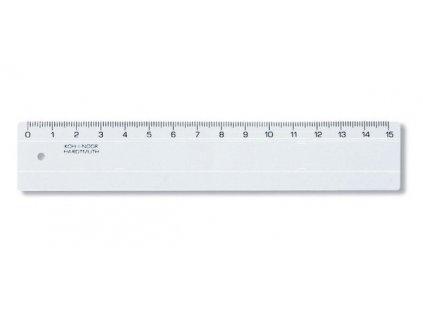 Pravítko čiré 742500 - 15 cm
