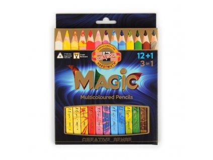 pastelky MAGIC 3408 12+1