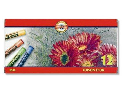 Školní souprava suchých pastelů TOISON D'OR 8512/12