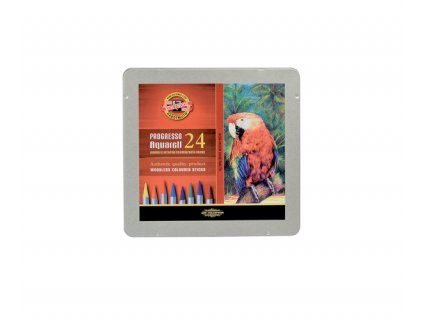 Pastelky 8784/24 PROGRESSO v laku akvarelové