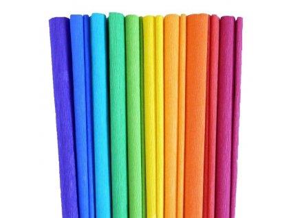 Papír krepový - výběr barev