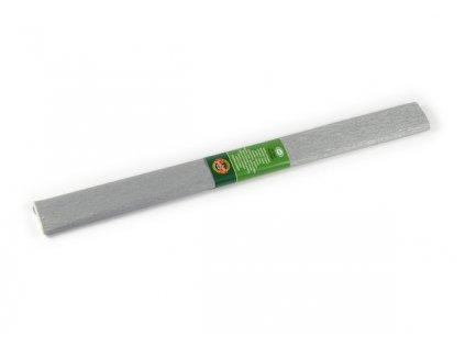 Papír krepový 9755/34 stříbrný