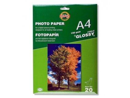 Fotopapír 9757/LESKLÝ 150g A4