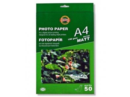 Fotopapír MATNÝ 190g A4 9757/50