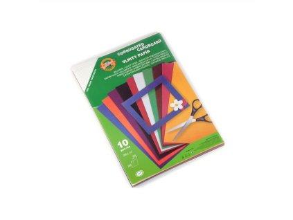 Vlnitý papír 9758 - Výběr barev