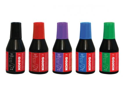Razítková barva Kores 28 ml - mix barev
