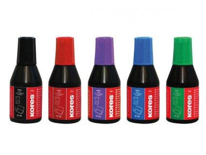 Razítkovací  barva 27 ml fialová