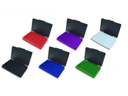 Plastová razítkovací poduška Kores - Stampo -  7x11 cm / nenapuštěná