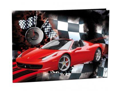 Desky na číslice Red Car
