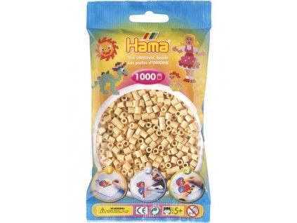 Zažehlovací korálky Hama -  béžové