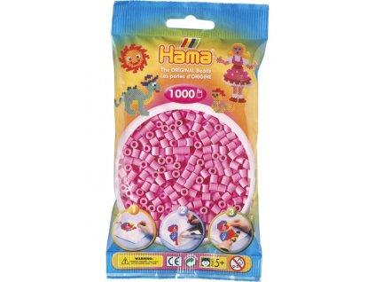 Zažehlovací korálky Hama - Pastelové růžové