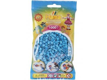Zážehlovací korálky Hama - Azurově modré