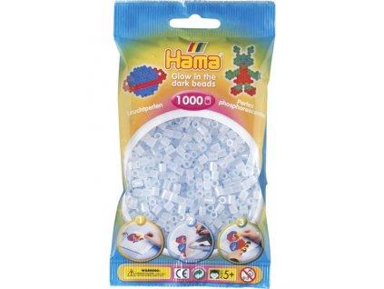 Zažehlovací korálky Hama  - Svítící korálky - modré