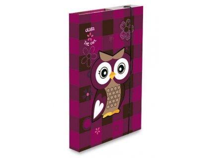 Box na sešity The Owl Olivia - A5
