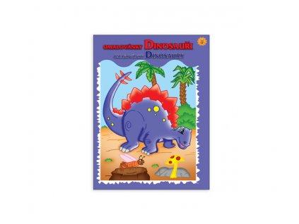 Omalovánky MFP A4 Dinosauři