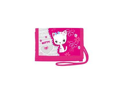 Peněženka na krk Kitty