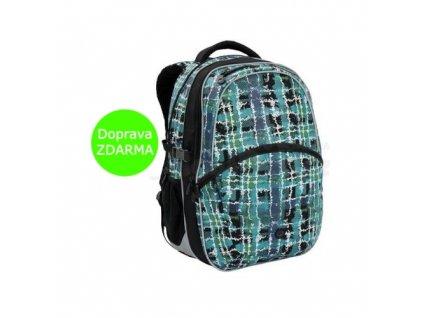 Školní batoh Bagmaster MADISON 6 D BLACK/BLUE