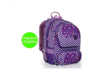 Topgal školní batoh CHI 708 I Purple