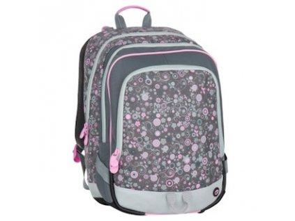 skolni batoh pro prvnacky bagmaster alfa 7 b grey pink 87593 0