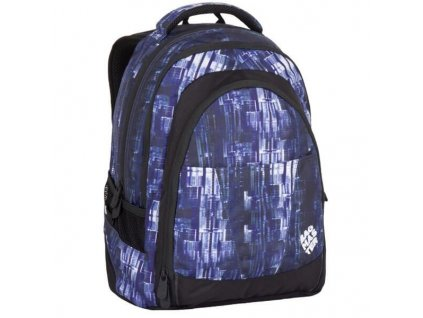 studentsky batoh pro kluky bagmaster digital 7 ch blue black 87616 0