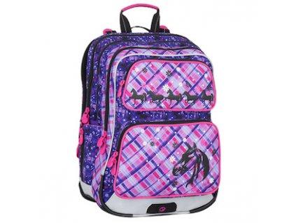 skolni batoh pro prvnacky bagmaster galaxy 7 b violet pink 87595 0