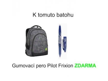 studentsky batoh bagmaster digital 7 c black green grey 87614 0