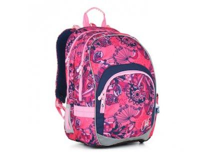 skolni batoh pro holky topgal 871 a pink 87609 0