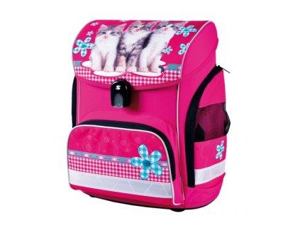 Školní aktovka pro holky Stil cats  + DÁREK ZDARMA - Doprava Zdarma a Box na svačinu