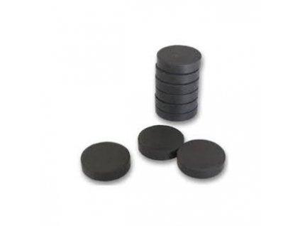 magnet cerny kulaty prumer 26 mm 87853 0
