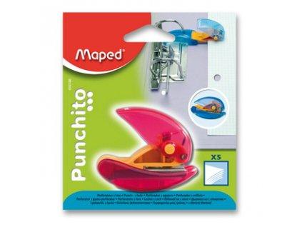 derovacka na jeden otvor maped punchito blistr mix barev 82951 5