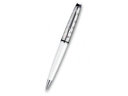 Waterman - Expert DeLuxe White CT - kuličková tužka