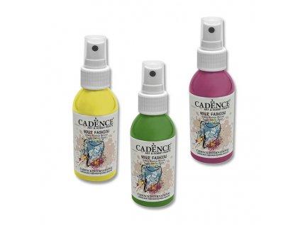 Barvy na textil Cadence Your Fashion - 100 ml, výběr barev