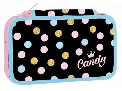 Školní penál třípatrový Candy