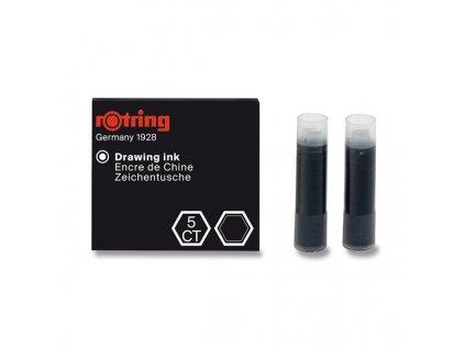 Rotring - Inkoustové bombičky Art Pen černé, 6 ks
