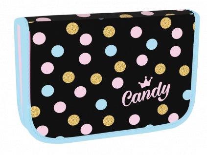 Školní penál jednopatrový Candy