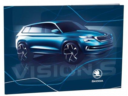 Desky na číslice Škoda Vision