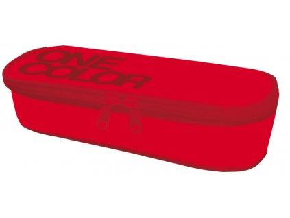 Etue školní One Colour červený