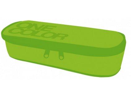 Etue školní One Colour zelená